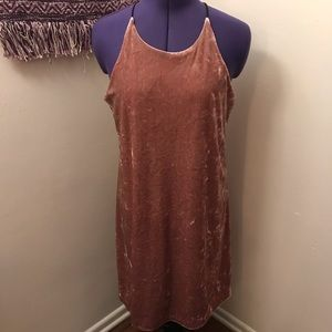 Love...Ady Velvet Mini Dress
